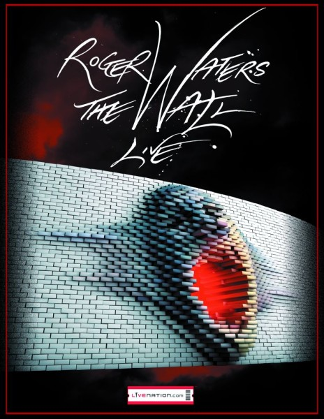 Roger Waters concert poster