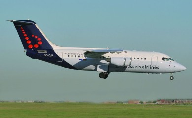 Samolot Brussels Airlines
