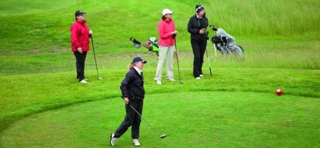 "Zmagania Kobiet podczas ""Dr Irena Eris Ladies Golf Cup"""