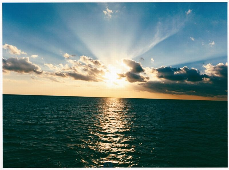 Zachód słońca na wyspach Bahama. Czas już wracać... Fot. Royal Carribean