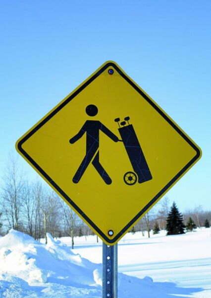 golf in Laponia