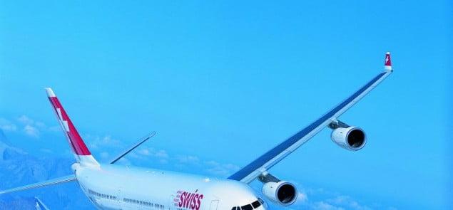 Swiss International Air Lines, Warszawa – Zurych – Miami, Fokker 100/A340 klasa biznes