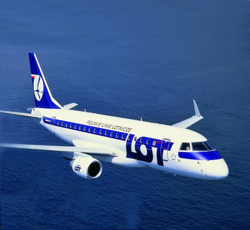 LOT, Warszawa – Genewa, Embraer 170 klasa ekonomiczna