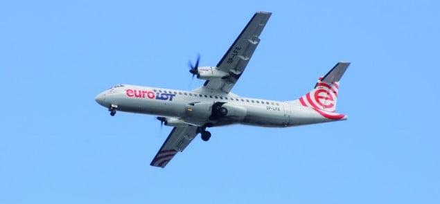 LOT, Warszawa – Szczecin, ATR 72
