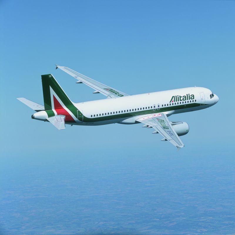 Alitalia, Warszawa – Rzym, Airbus A320 klasa ekonomiczna