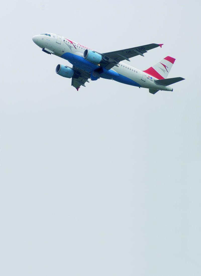 Austrian Airlines, Warszawa – Wiedeń, Airbus A319 klasa ekonomiczna