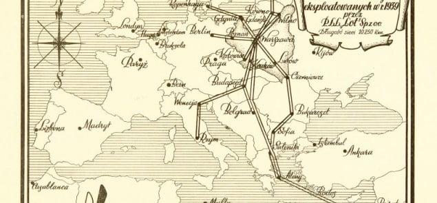Początki Polskich Linii Lotniczych
