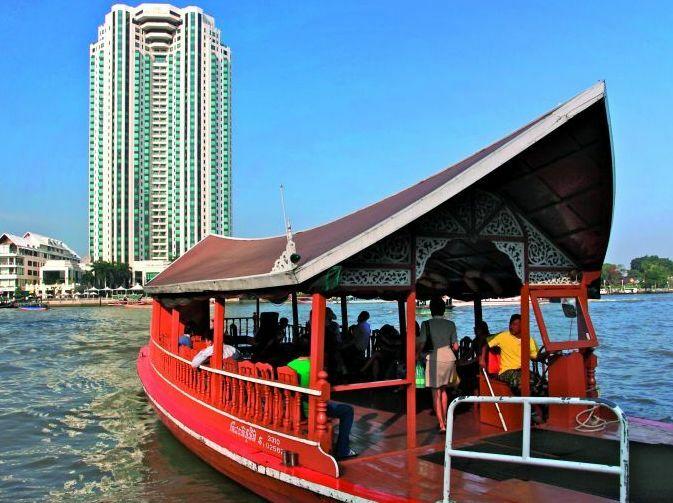 Rzeka Chao Phraya, Bangkok