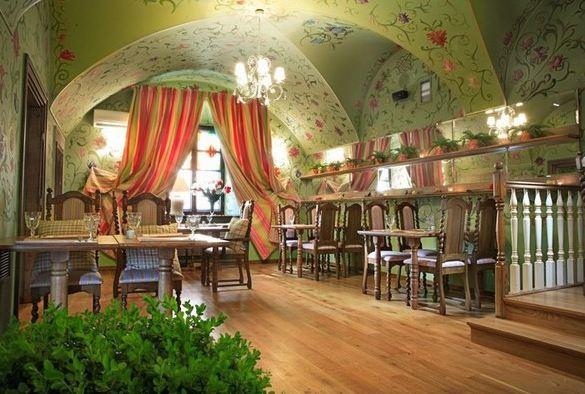 """Wnętrza w restauracji """"Polka"""". Fot. Restauracja """"Polka"""""""