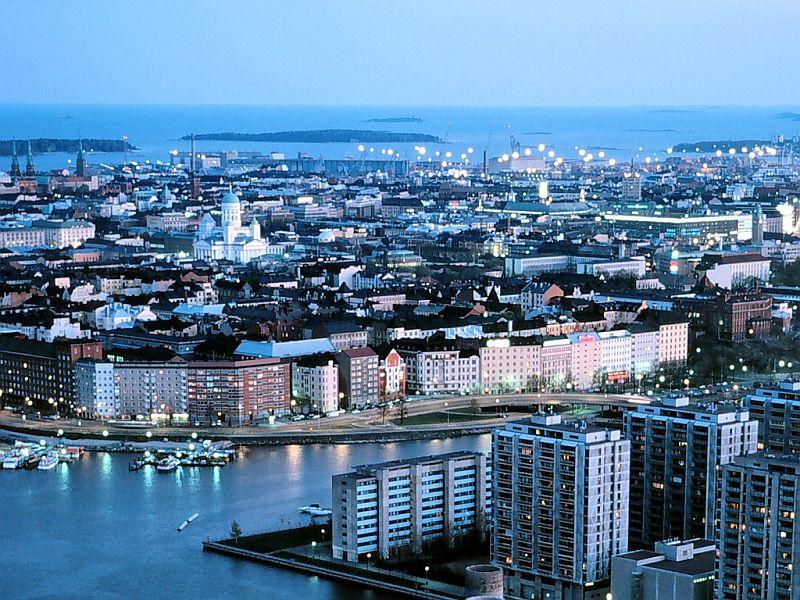 Helsinki Night View