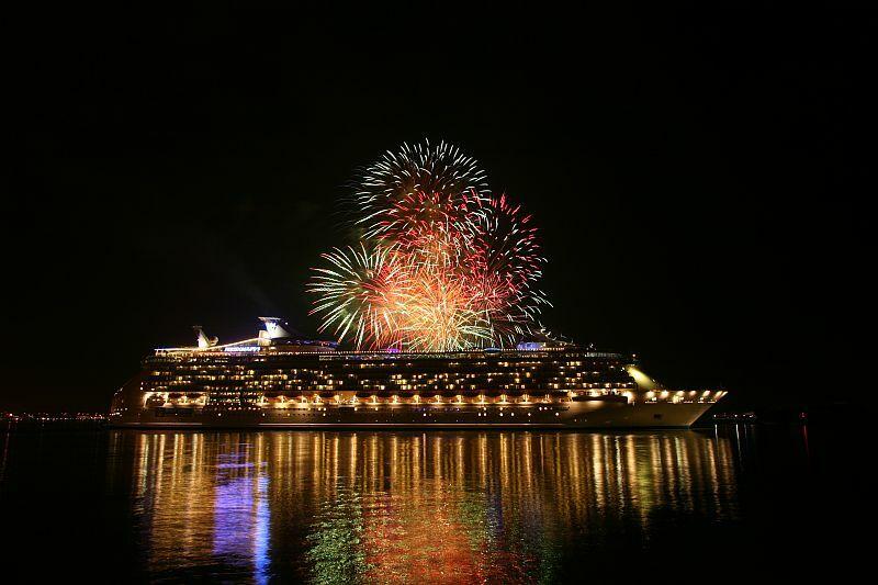 Sylwester na statku Royal Caribbean