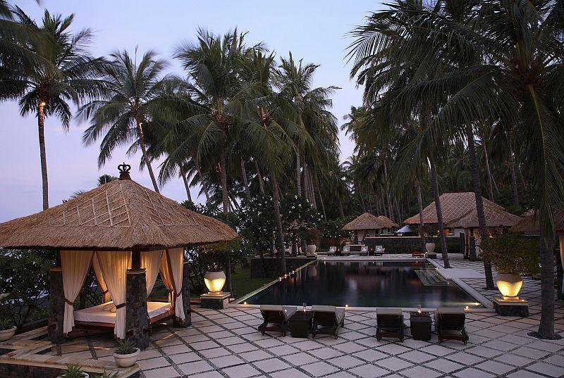 Spa Village Resort in Tembok, Bali, Indonesia- Pool