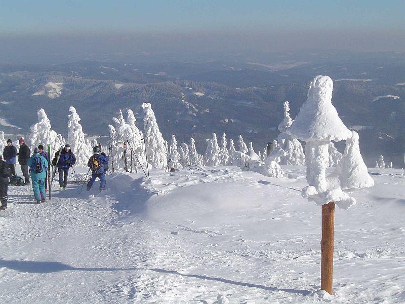 Lysá hora fot  Destinacni Management Moravskoslezsky