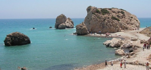 Skała Afrodyty, Cypr. Fot.Paul167
