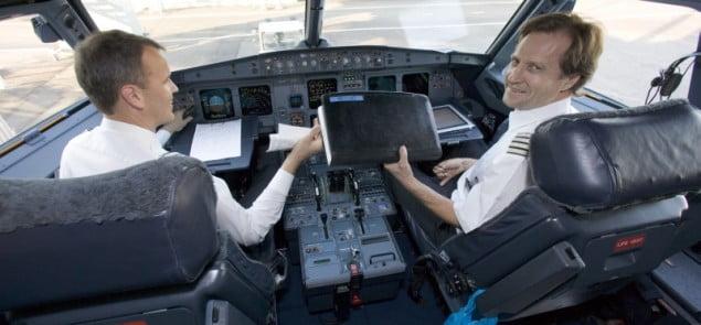 Finnair załoga samolot