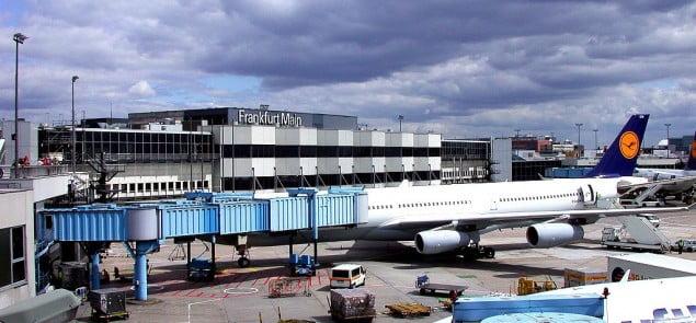 Lotnisko we Frankurcie nad Menem Fot.Melkom