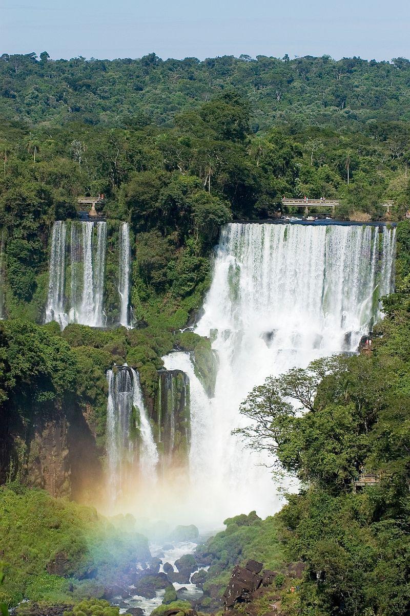 """Anegdota mówi, że kiedy królowa Anglii zobaczyła wodospady Iguazu powiedziała podobno: """"Biedna Niagara..."""".Fot:dreamstime"""