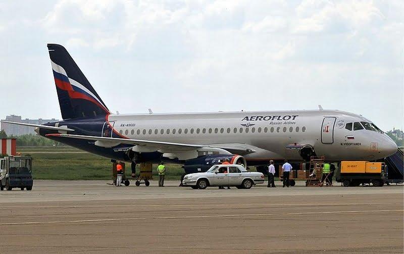 Aerofłot samolot fot. Dmitri Pietrow