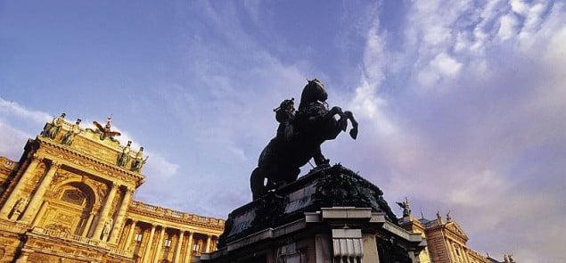 Hofburg -wiedeński pałac władców Austrii.Fot.WienTourismusMAXUM
