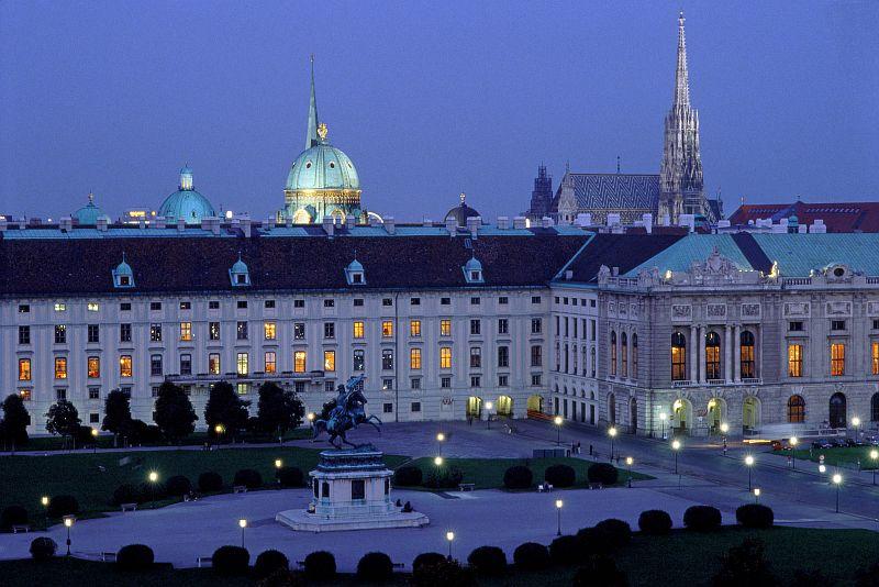 Hofburg -wiedeński pałac władców Austrii. Fot. WienTourismusMAXUM