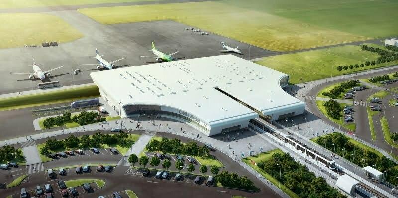 Terminal lotniska w Lublinie