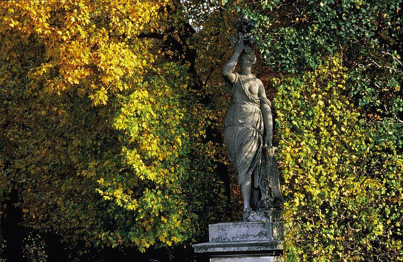 Park przy pałacu Schönbrunn. Fot. WienTourismusMAXUM