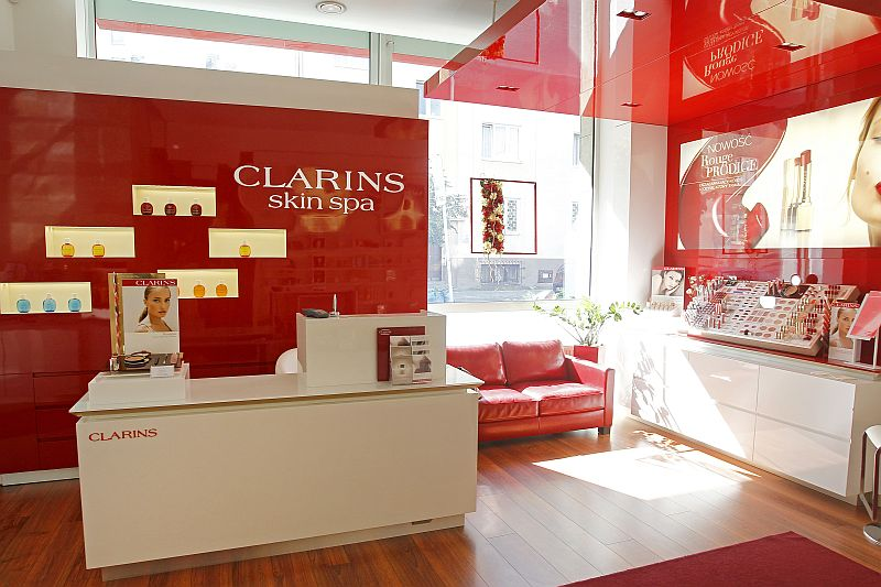 salon Clarins