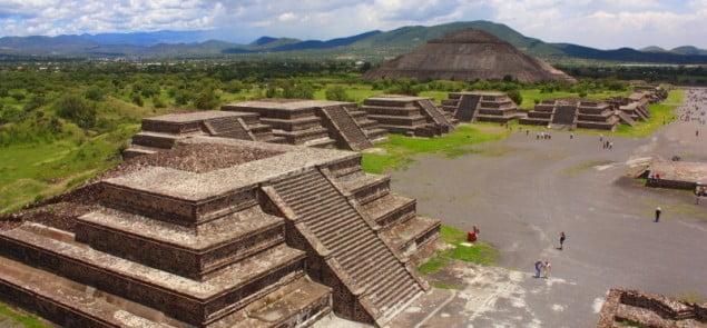 Świątynie Azteków. Fot. dreamstime