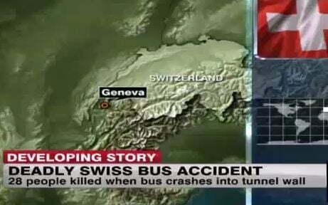 wypadek autokaru szwajcaria