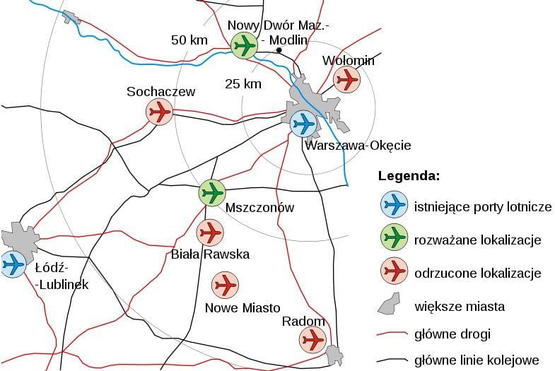 Centralny port lotniczy