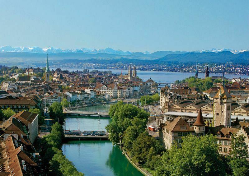 General view Zurich