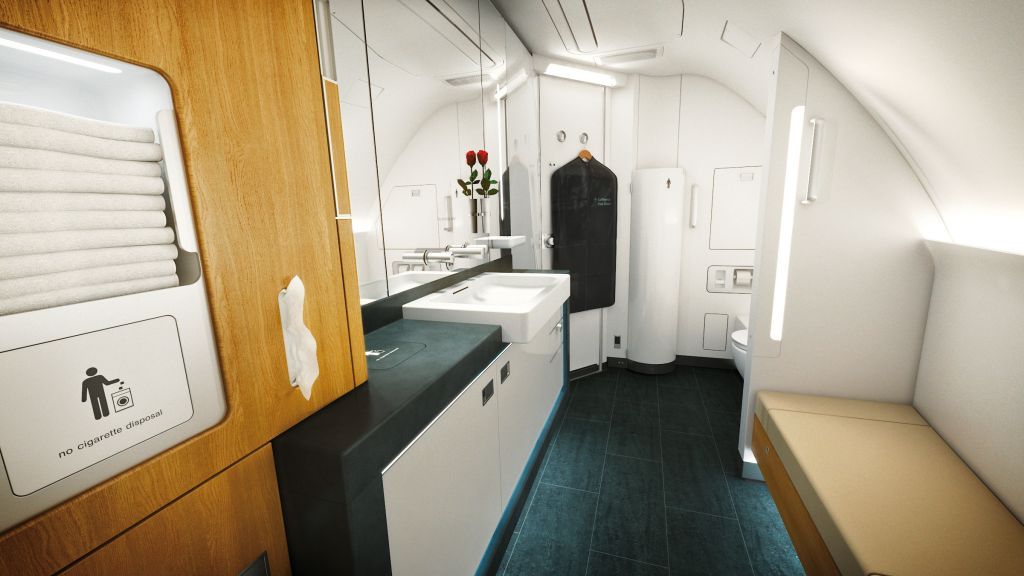 LUFTHANSA Klasa Pierwsza A380