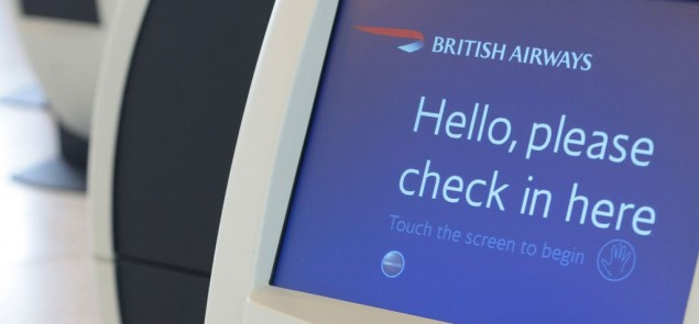British Airways check-in area Photo by Nick Morrish/British Airways)