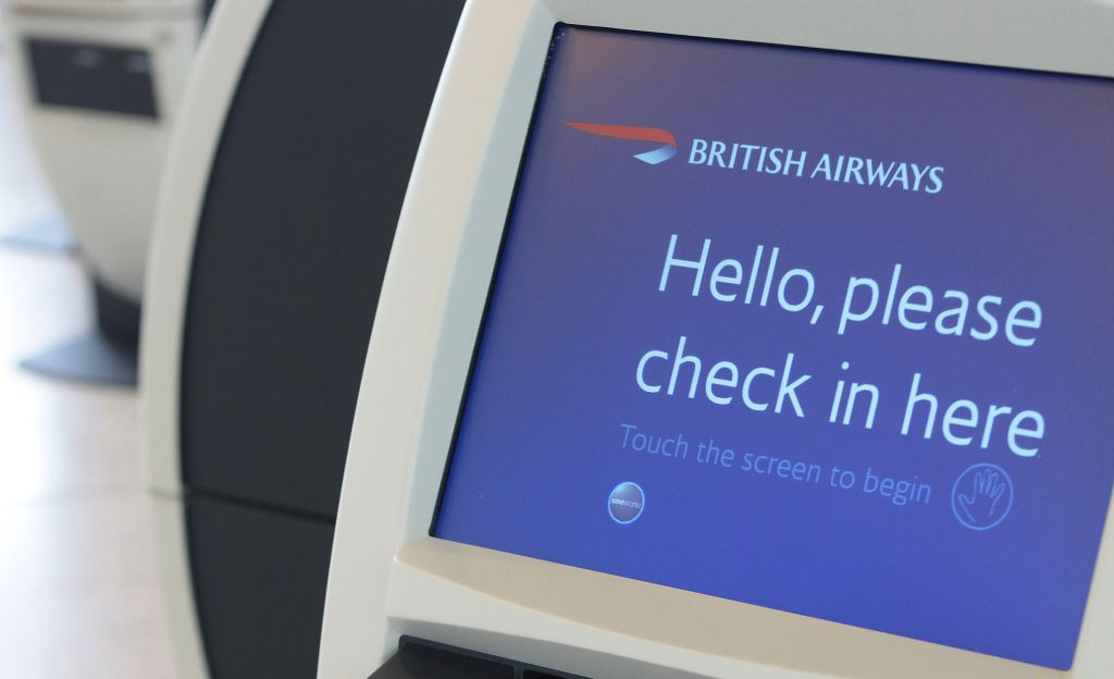 British Airways check-in area Photo by Nick Morrish/British Airways)