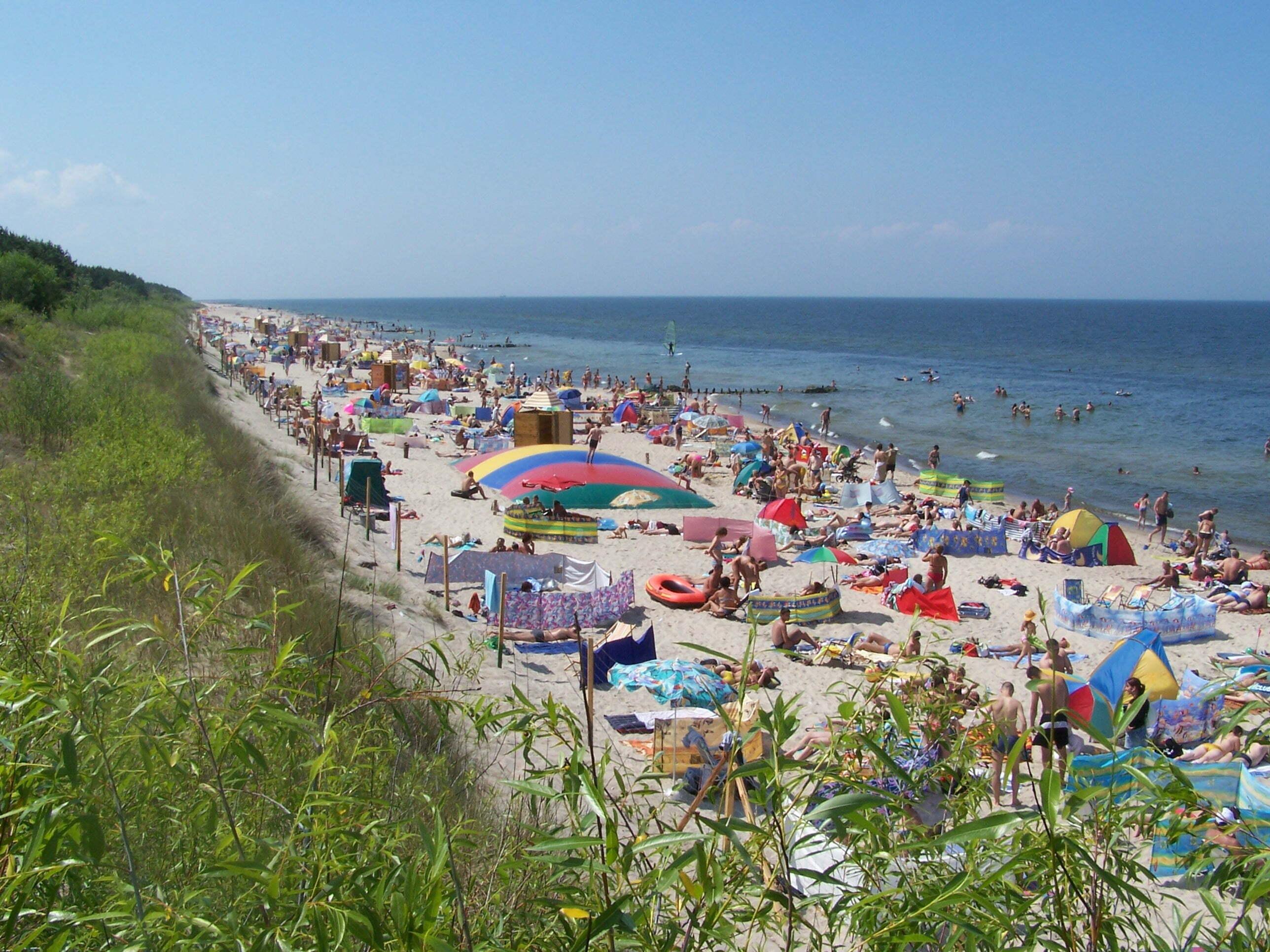 Wakacje nad Bałtykiem. Fot. Ejdzej/Wikimedia