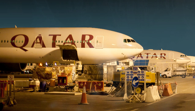 Doha Qatar Airways Fot. Altair78