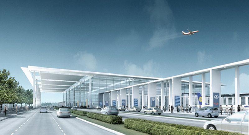 Wizualizacja nowego lotnisko w Berlinie