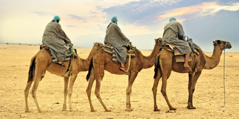 Sahara, Tunezja. Fot.Lenkusa - Fotolia