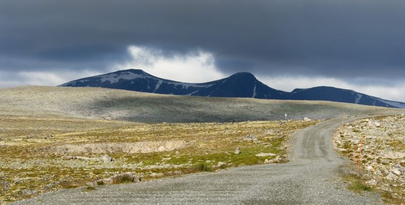 10.Snøhetta – na terenie parku narodowego Dovrefjell-Sunndalsfjella. Fot. Wolfgang Kruck Fotolia.