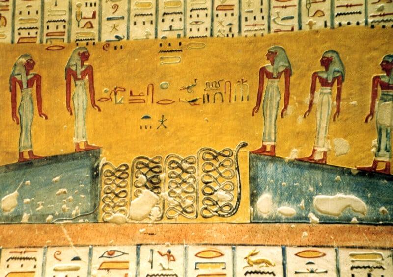 egipt malowidła luksor