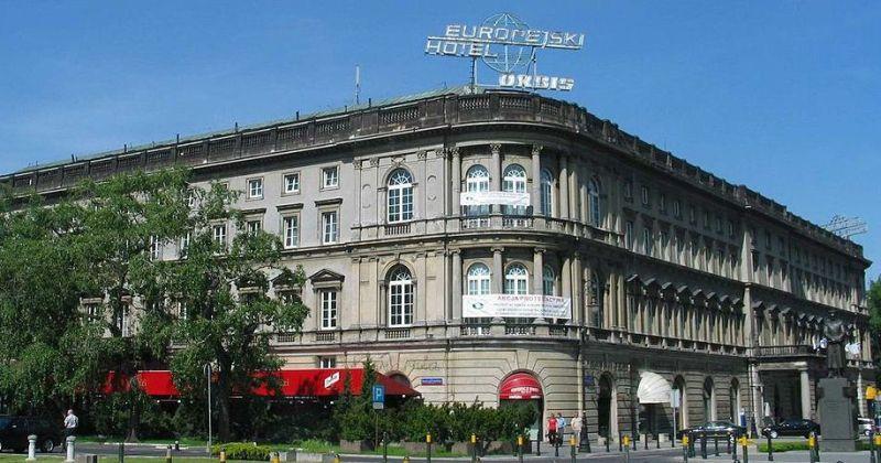 Hotel Europejski w Warszawie Fot Vindur wikimedia commons