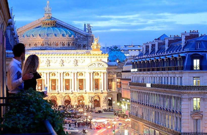 Hotel Edouard VII - (Paryż, Francja)