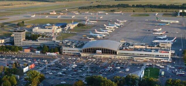 lotnisko w Kijowie