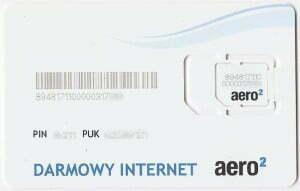 Karta Sim Aero2. Fot Wikipedia