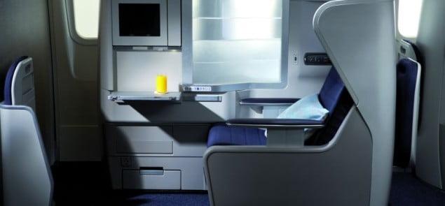 Klasa biznes w Boeingu 777 British Airways