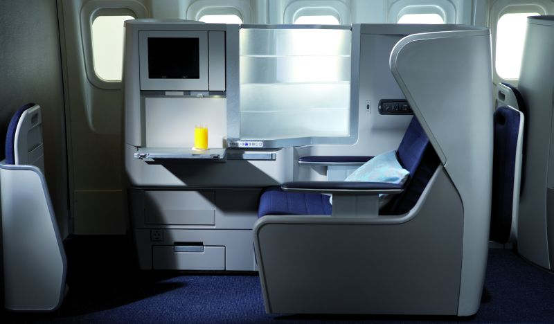 Klasa biznes w Boeingu 777 British Airways