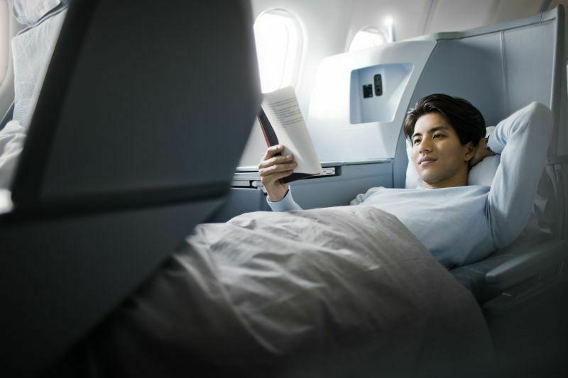 Rozkładane fotele w Airbusie Finnair