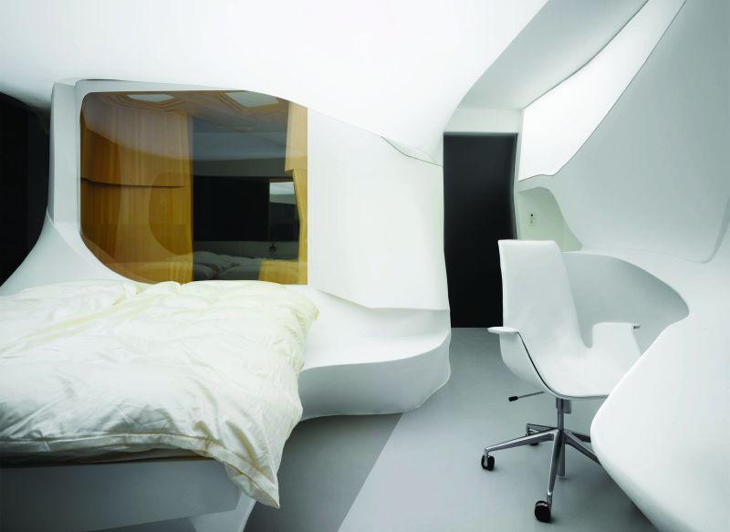 Prototyp hotelowego pokoju przyszłości autorstwa LAVA ma za zadanie pokazać, jakie są możliwości interakcji między architekturą, technologią i człowiekiem.