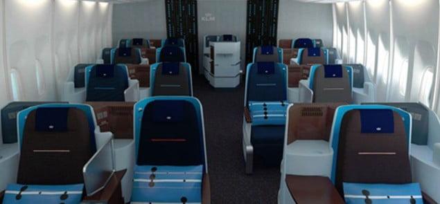 KLM full flat