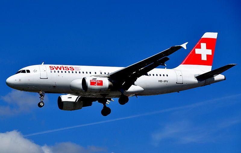 Samolot Swiss. Fot. Eluveitie/Wikimedia